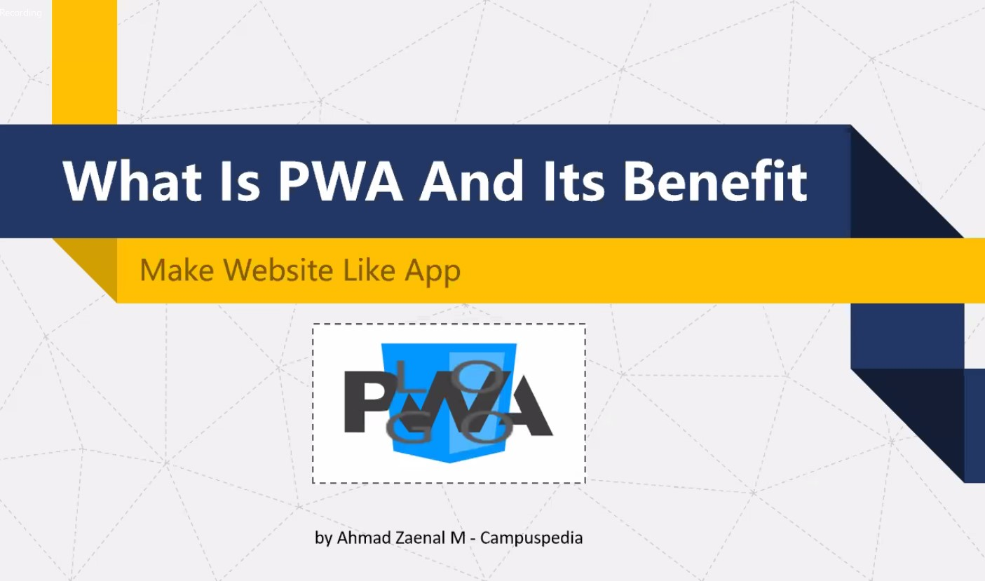 What is Progressive Web Apps (PWA) and its Benefit Confirmation